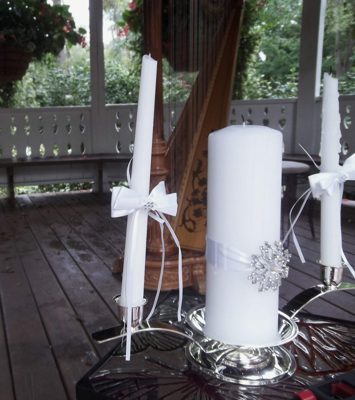 Wedding At Deep River County Park Hobart Indiana Harpist The