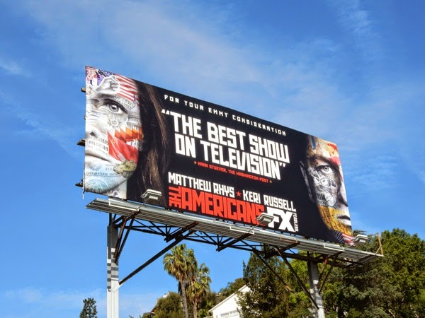 The Americans season 3 Emmy billboard