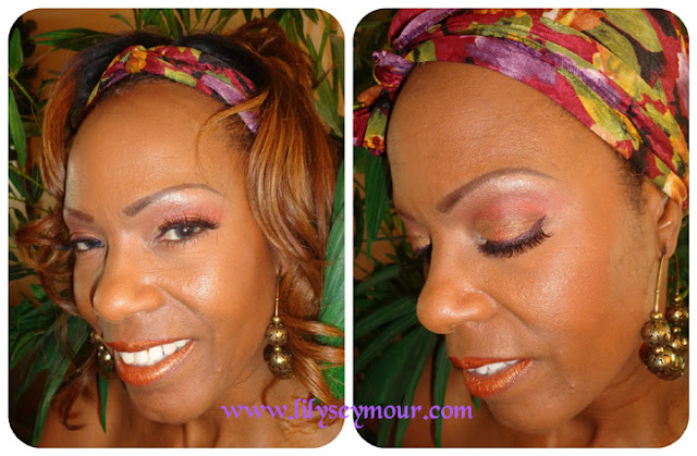 Mac Spicy Smoke, Antique Gold and Rich Life Pigments