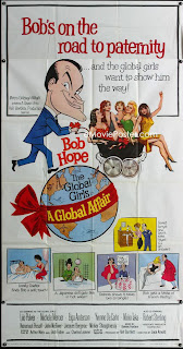 Large 3 sheet American film poster for A Global Affair