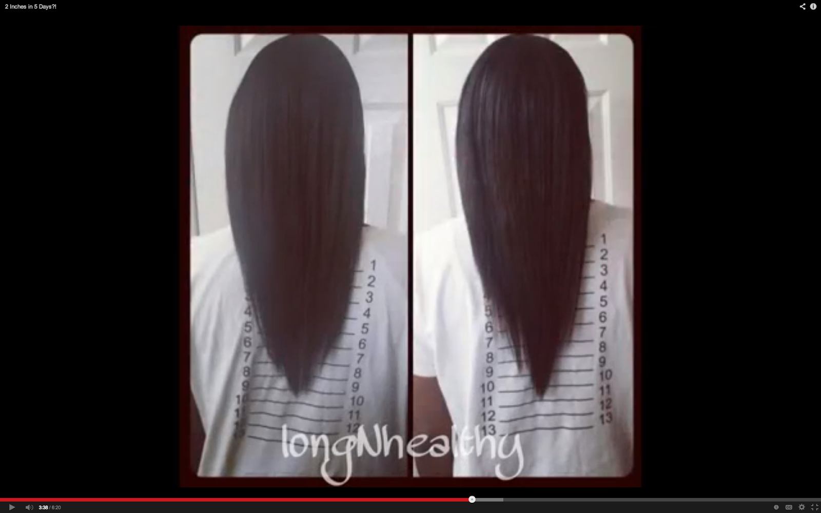 Two Inches Of Hair Growth In 5 Days Bellemocha