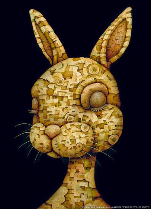 08-Focus-Mind-Naoto-Hattori-Dream-or-Nightmare-Surreal-Paintings-www-designstack-co