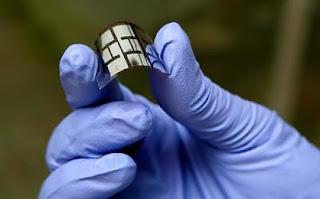 panel solar plastico