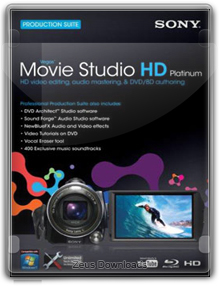 Sony Vegas Movie Studio HD Platinum - v11.0.293 - x86 / x64