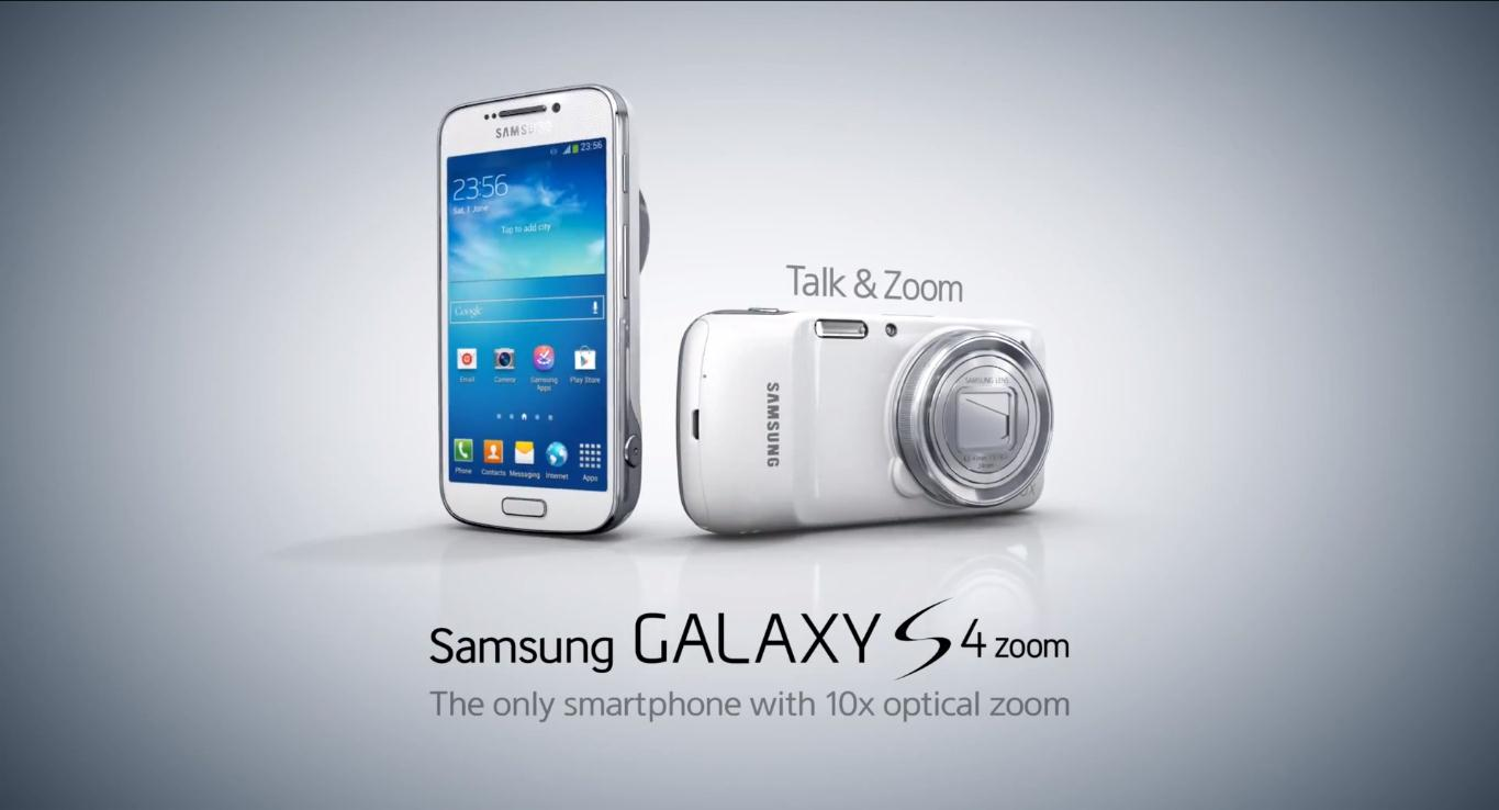 Samsung Galaxy S4 Zoom with 10x Optical Zoom now available ...