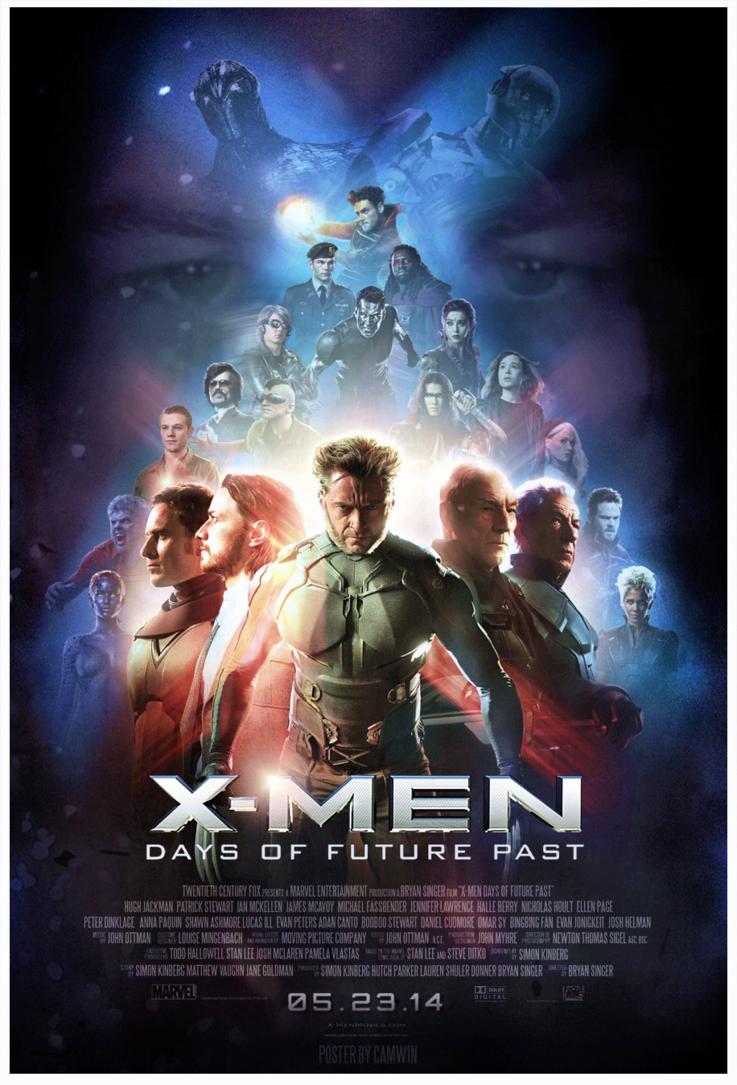 MEN Days Of Future Past  2014 X Men Days Of Future Past Blink Poster