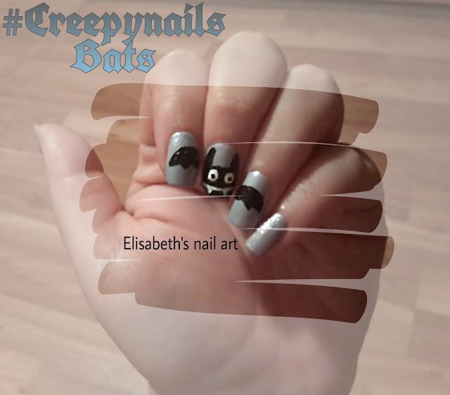 Murcielago nail art