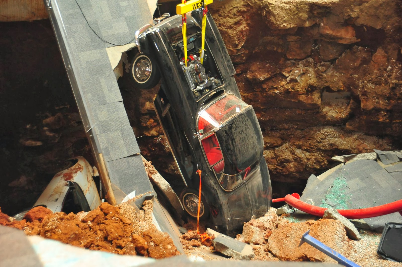 Follow Up: Corvette Museum Cars Recovered