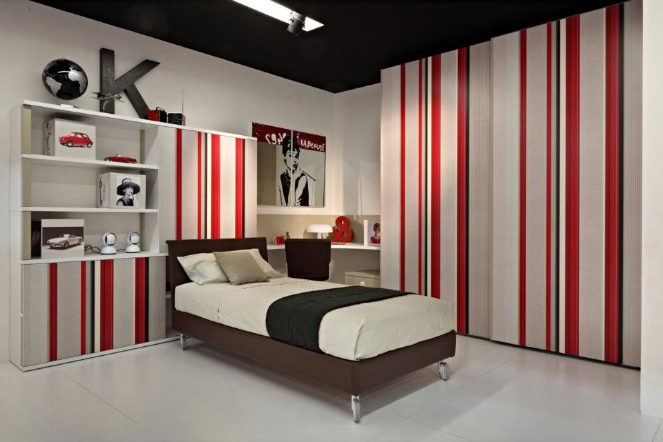 18 cool boys bedroom ideas home design for Cool wallpaper designs for bedroom