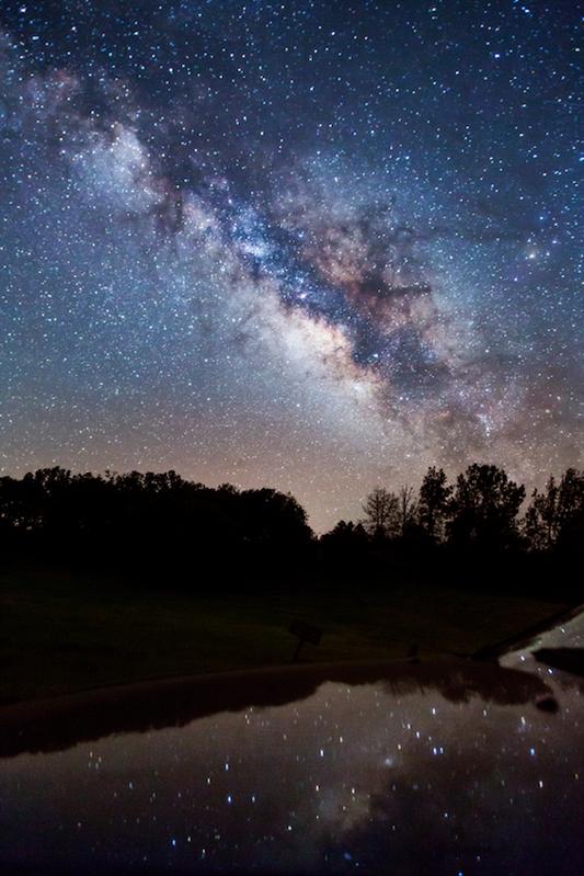 Vía Láctea vistas fotos