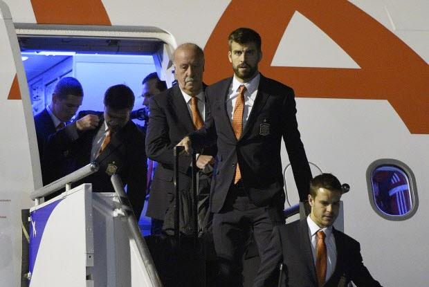 Spain arrives in Brazil