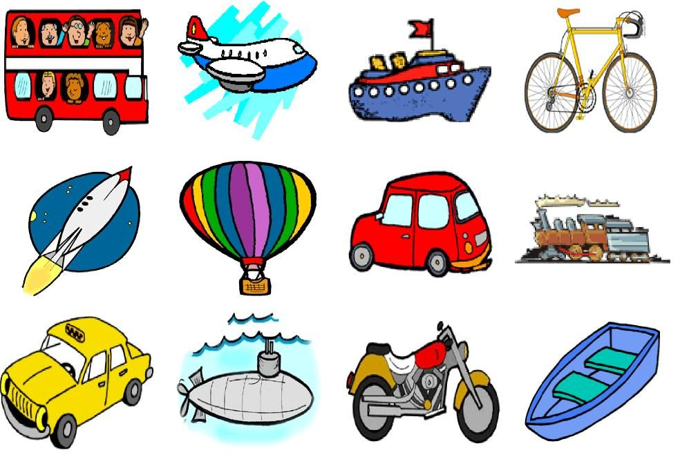 a history of different ways of transportation