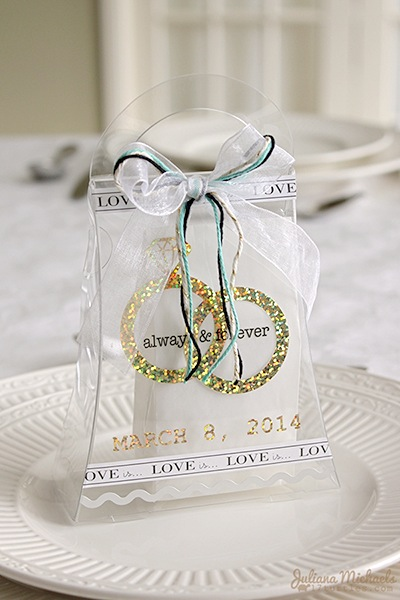 Srm stickers blog wedding favors by juliana clear purse glassine bags