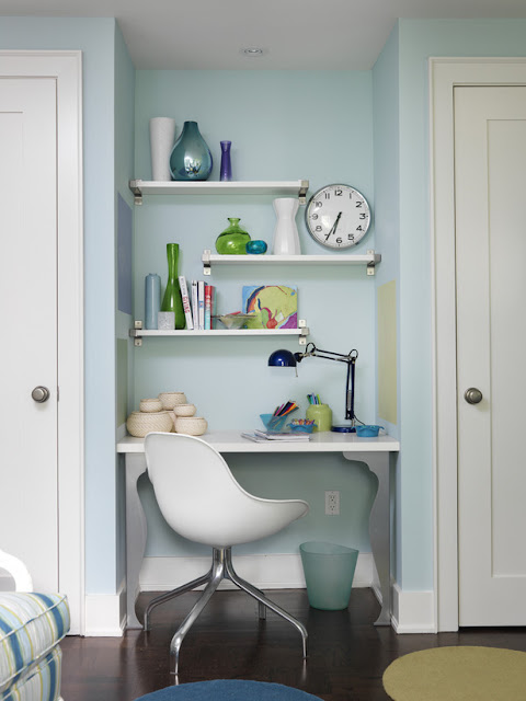 Small Home Office Design Ideas 2012 From HGTV