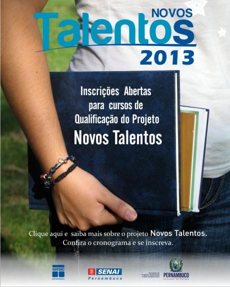 Cursos de qualificação profissional para 2013