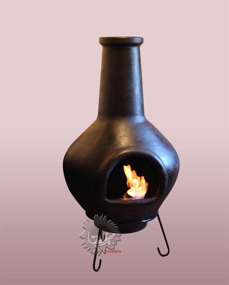 amadera meuble et d coration le charme thique du mexique authentique une chemin e ethanol. Black Bedroom Furniture Sets. Home Design Ideas