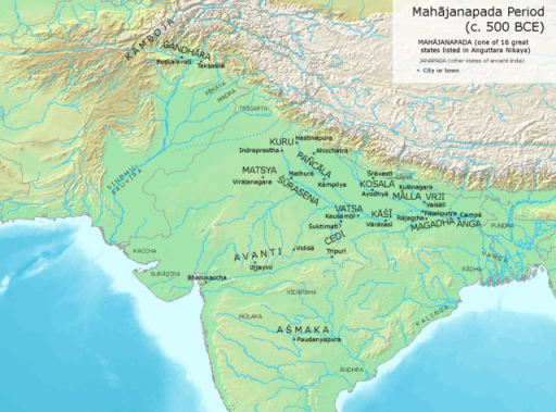 Emergence of Mahajanapadas (600-321 BC)-State Formation & Urbanization(ANCIENT INDIA), QUICK NOTES FOR IAS PRELIMS