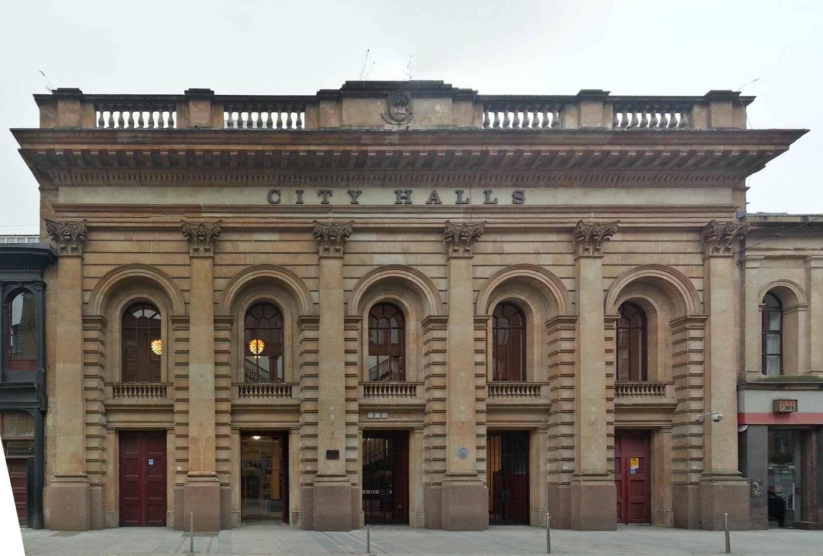 City Halls, Glasgow