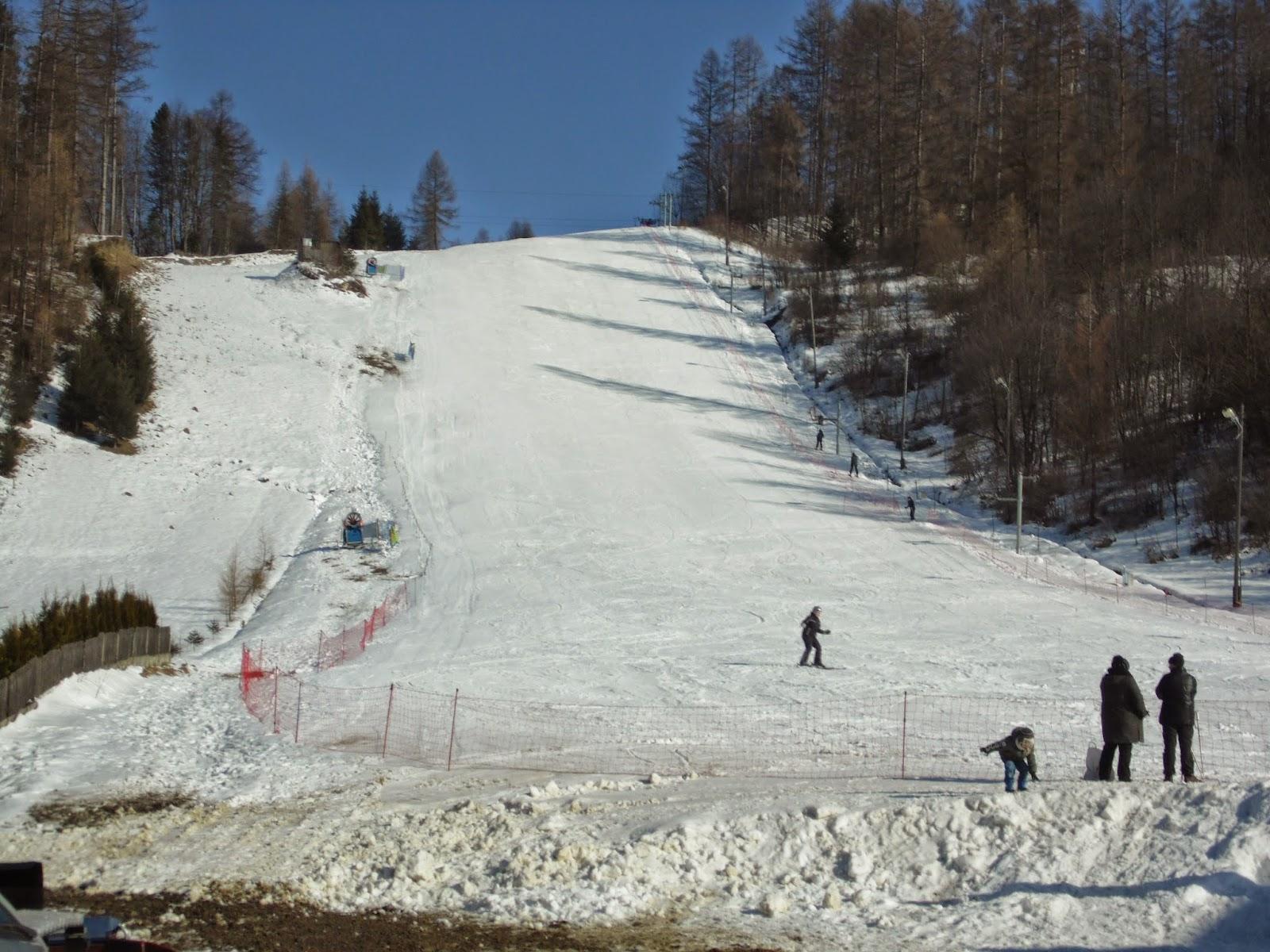 wyciąg Stajkowa trasa narciarska