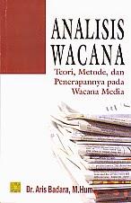 toko buku rahma: buku ANALISIS WACANA , pengarang ars badara, penerbit prenada