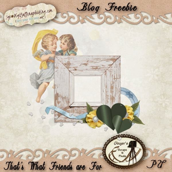 Ginger's Blog Freebie