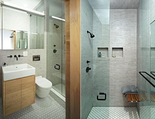 ARK  Arquitetura Projetando Banheiros Pequenos  ARK Blog dá a dica! -> Banheiro Com Banheira Metragem