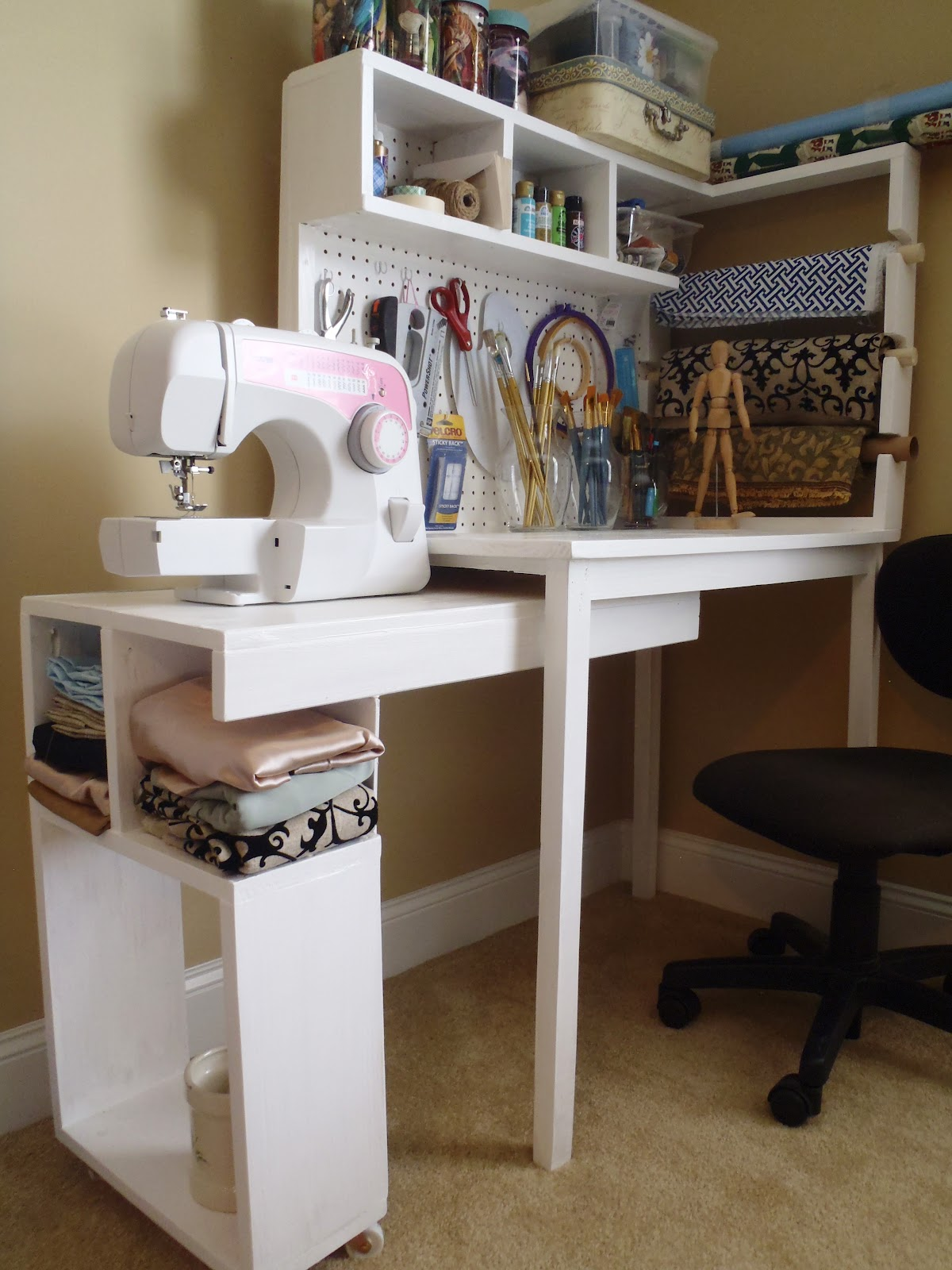Make your own craft table - Make A Craft Table Make Your Own Craft Table Build A 2x4 Craft Table 467x423