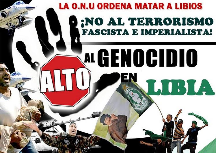 ESTADOS UNIDOS CREÓ A AL QAEDA, Y PAGA PARA QUE LE HAGAN EL TRABAJO - Página 2 Libia+solidaridad+y+amistad