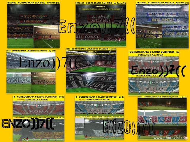 Coreografia nos Estádios - PES 2013