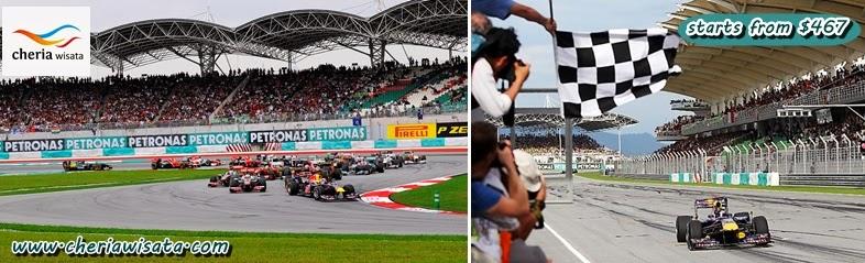 F1 Race Sepang Malaysia 2014