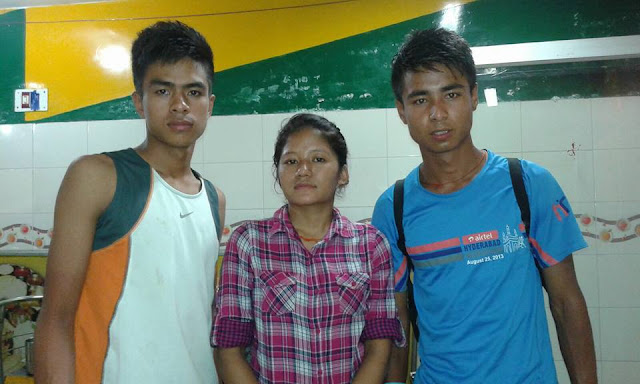 Puran, Menuka & Bikram are running Cherapunjee Marathon on 17th July
