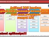 Download Aplikasi excel Pengolahan Data Transaksi BOS