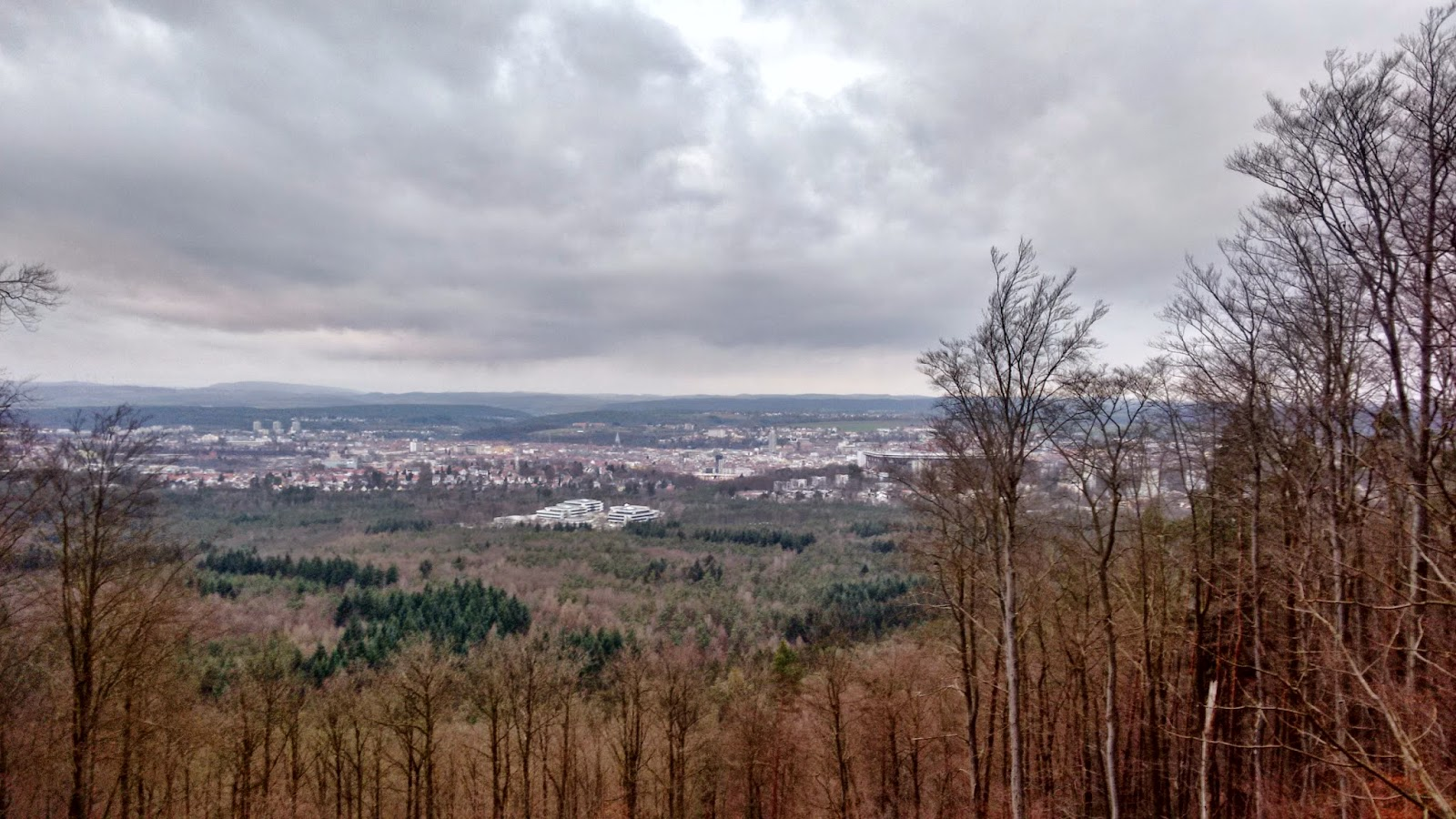 Kaiserslautern view from Humbergturm