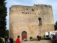 Façana principal del Castell de Tossa