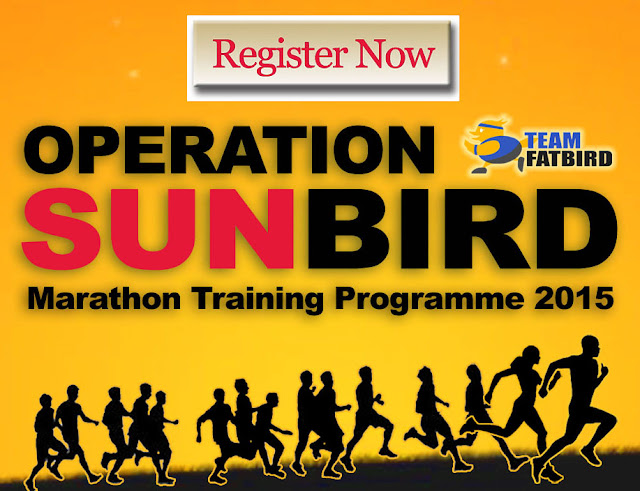 OPERATION SUNBIRD 2015: MARATHON TRAINING FOR STANDARD CHARTERED MARATHON SINGAPORE (SCMS)