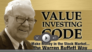value investing code - make money in the stock market the warren buffett way