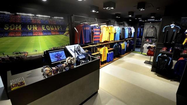 El Barça abre tienda oficial en el Casino de Barcelona