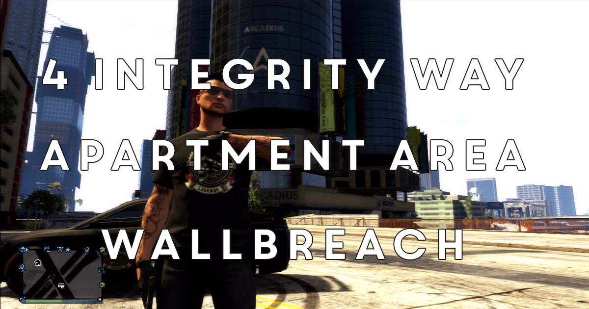 The Dork Group: GTA V Tutorials: Wallbreach - 4 Integrity Way