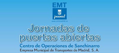 Jornada de puertas abiertas en EMT Madrid (Sanchinarro)