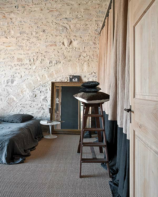The mill house transformation by marie laure helmkampf for Vintage loft millhouse