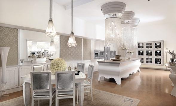 Decora y disena hermosas cocinas de lujo italianas for Muebles italianos de lujo