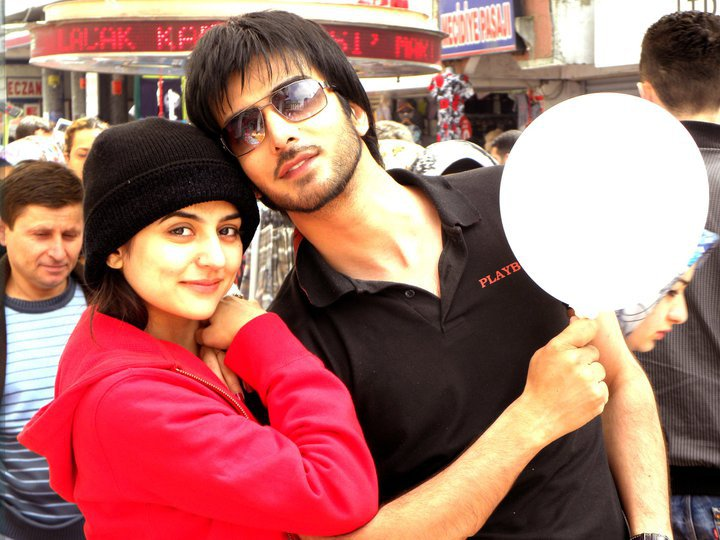 Imran Abbas and Sanam Baloch