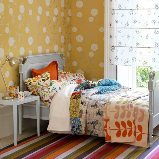 Key interiors by shinay not pink and beautiful teen girl for Country bedroom ideas