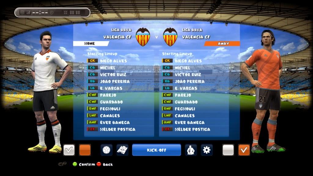 PES 2013 Valencia Kits 14-15 By Andri_dexter11
