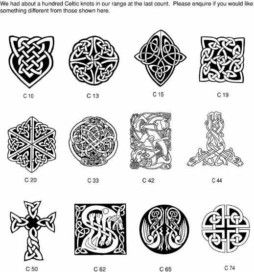 irish tattoos designs