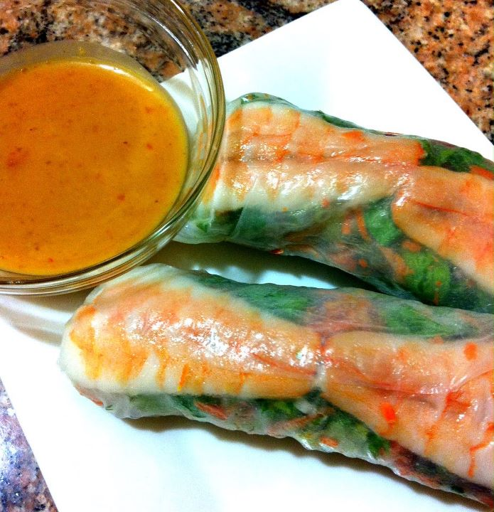 Vietnamese Spring Roll Dipping Sauce from the kitchens of k...