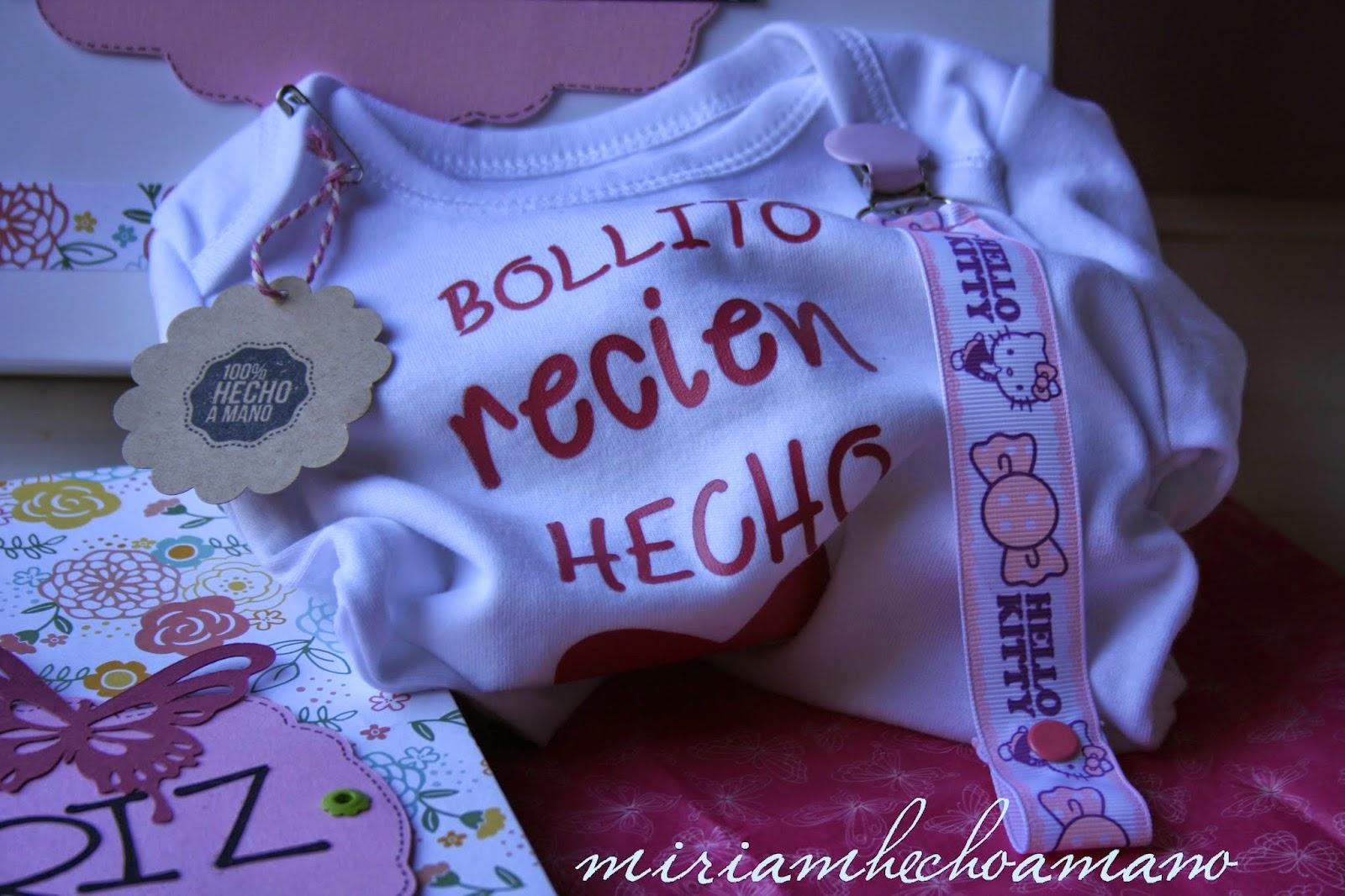 regalo para bebe hecho a mano