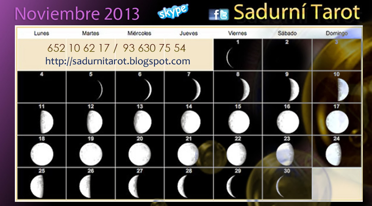 Sadurn tarot calendario lunar y lunaci n luna llena for Calendario lunar de hoy