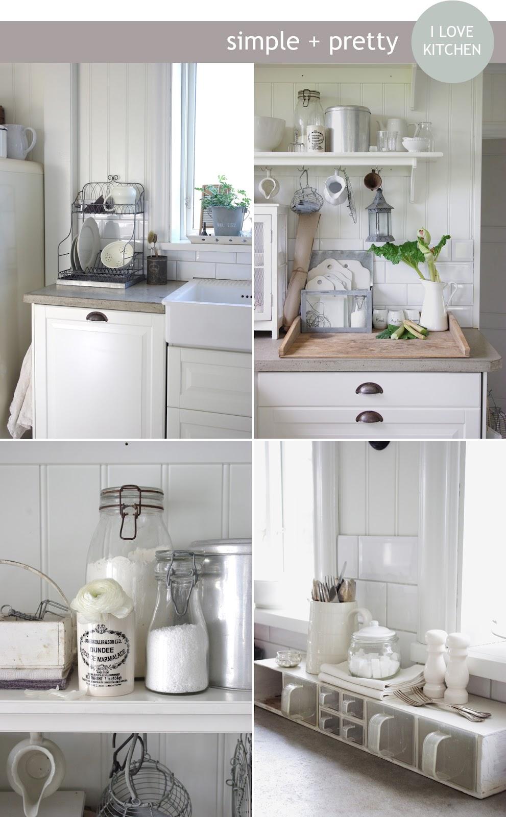 Stile nordico semplice e originale shabby chic interiors - Casa stile nordico ...