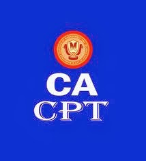 CA CPT Application Form 2014 Download